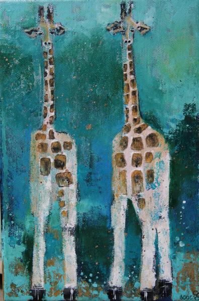 Pink_giraffes_16x24cm