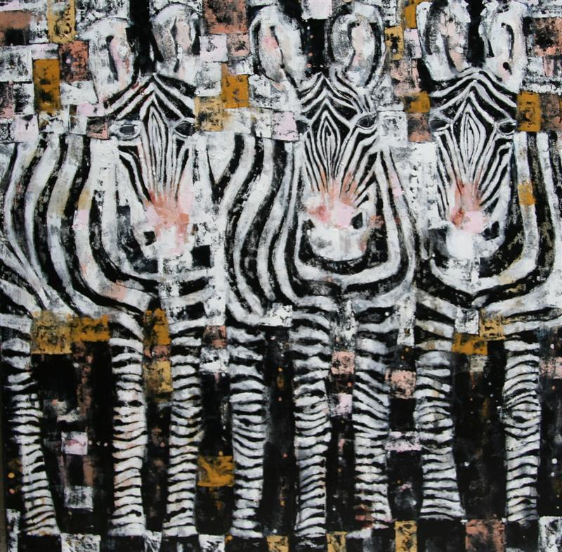 Zebras_80x80cm
