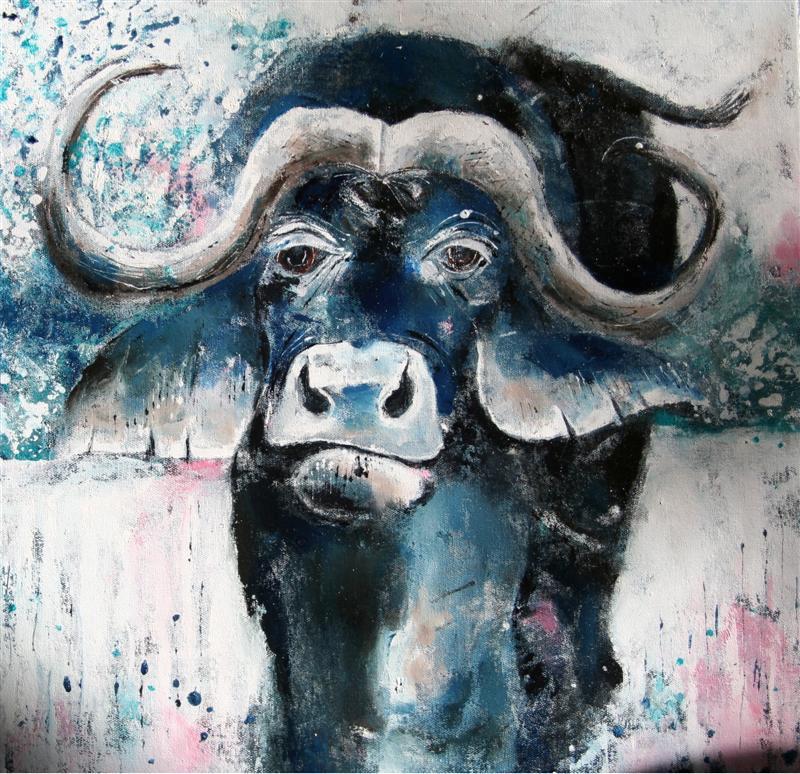 buffalo_50x50cm