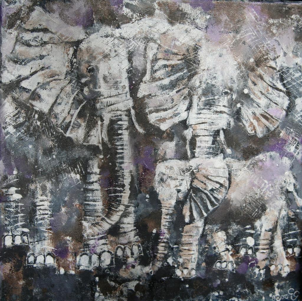 elephants30x30cm