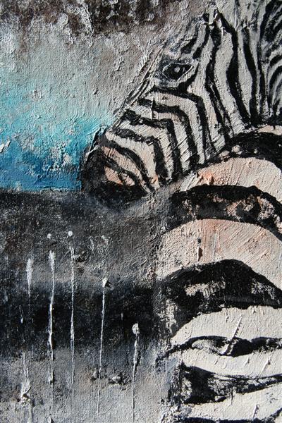 zebras_bum_50x50cm_detail