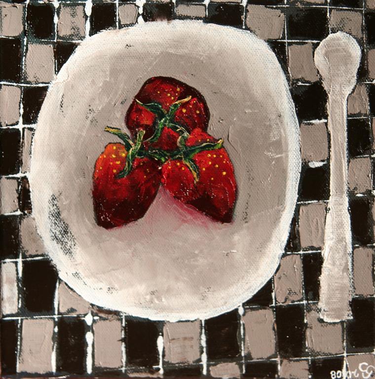 strawberrytart15x15cm_
