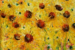 Sunflowers 60x60cm